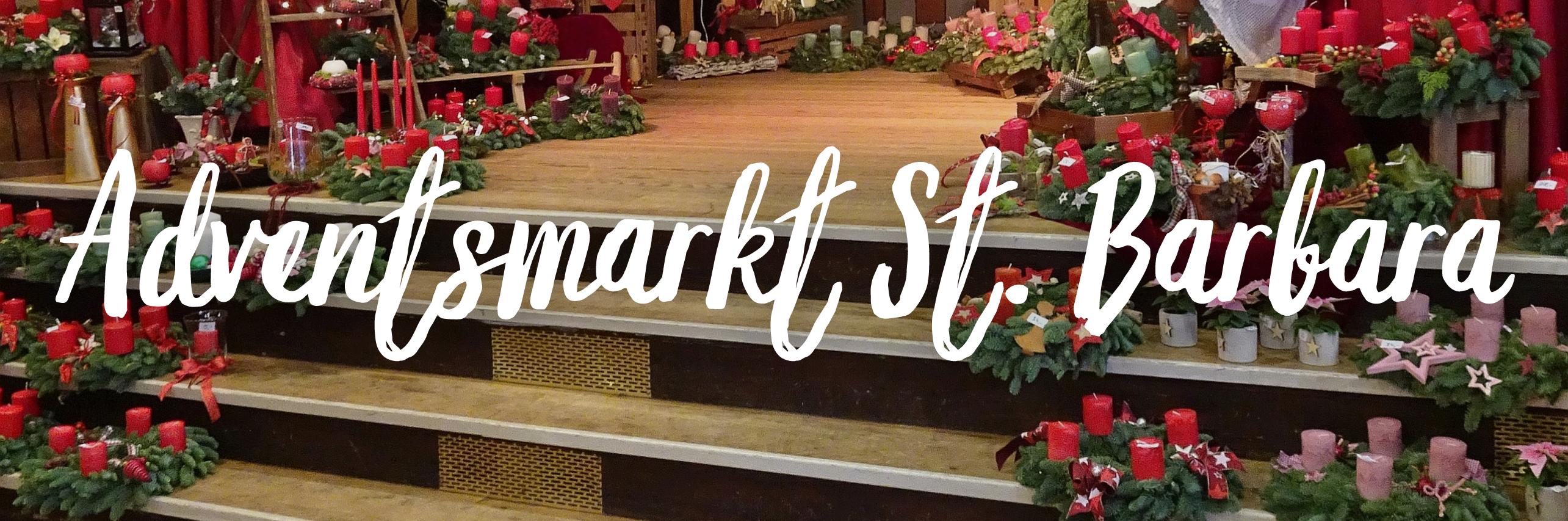 Link zu dem Adventsmarkt St. Barbara 2020