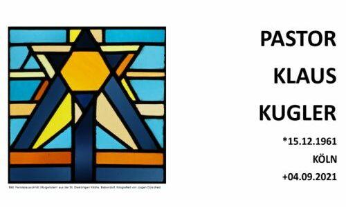 Pastor Klaus Kugler